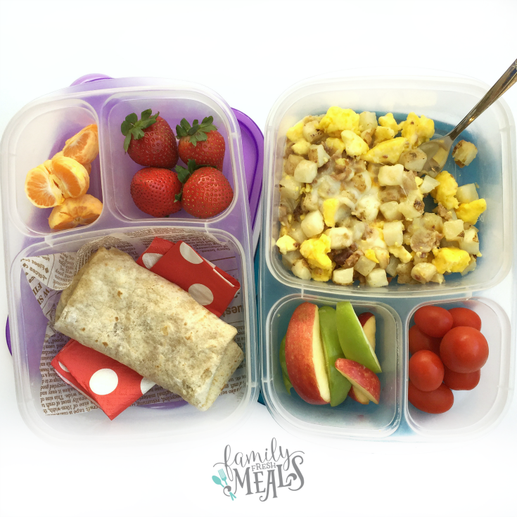 GOOD FOOD MADE SIMPLE - Breakfast on the go made easy - FamilyFreshMeals.com