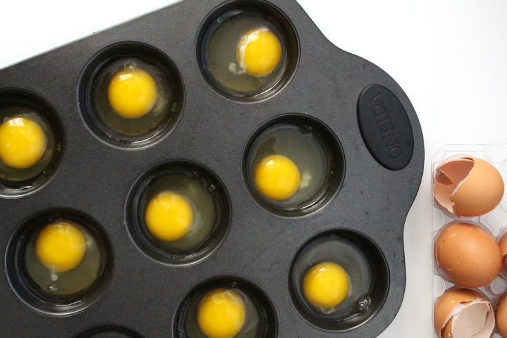 Oven Baked Egg Bites - Step 1