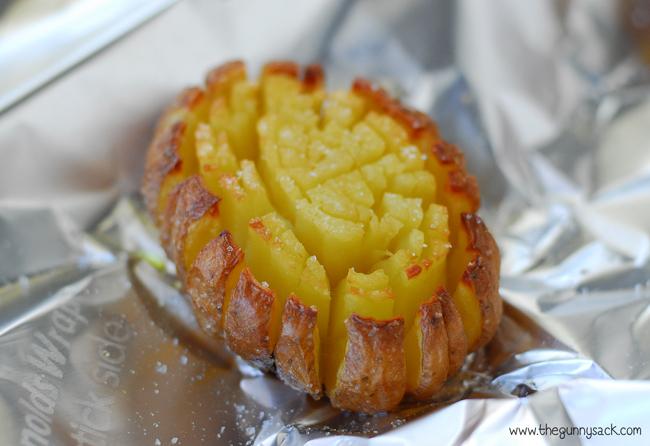Blooming Potato