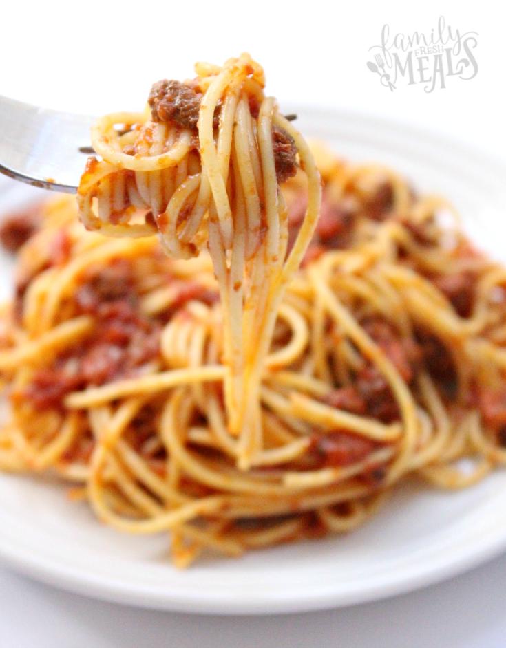 Crockpot Spaghetti Sauce --- Family Fresh Meals - fb3
