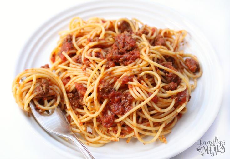 Crockpot Spaghetti Sauce - Step 3 - FamilyFreshMeals.com -