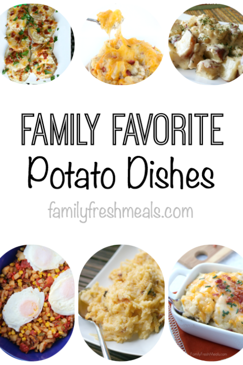 Family Favorite Potato Dishes -- FamilyFreshMeals.com