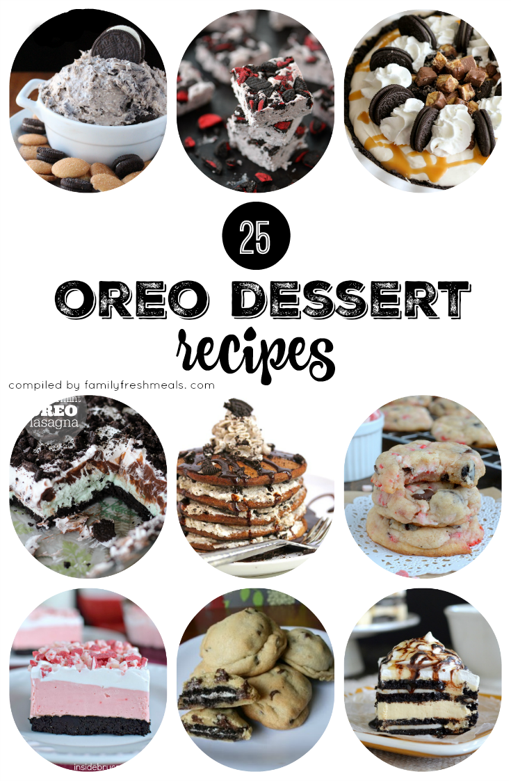 Oreo Dessert Recipes - FamilyFreshMeals.com
