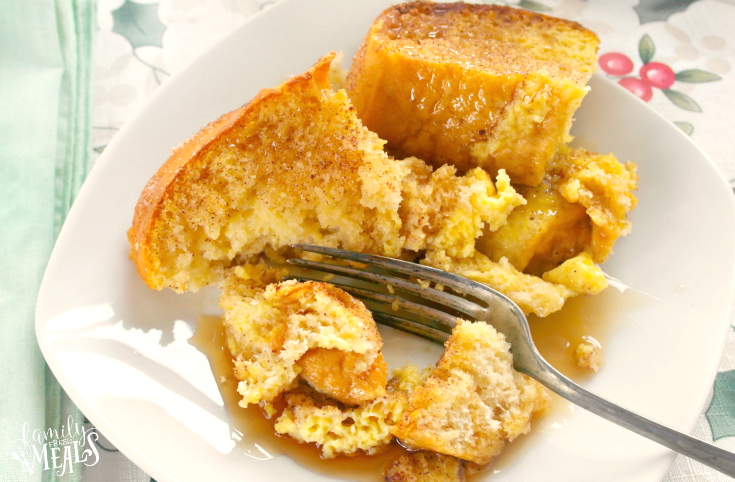 Overnight Snickerdoodle French Toast - Step 5 -  FamilyFreshMeals.com -