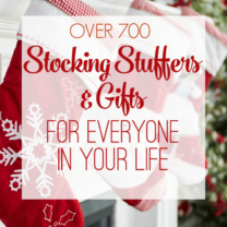 Stocking Stuffer and Gift Ideas For Everyone