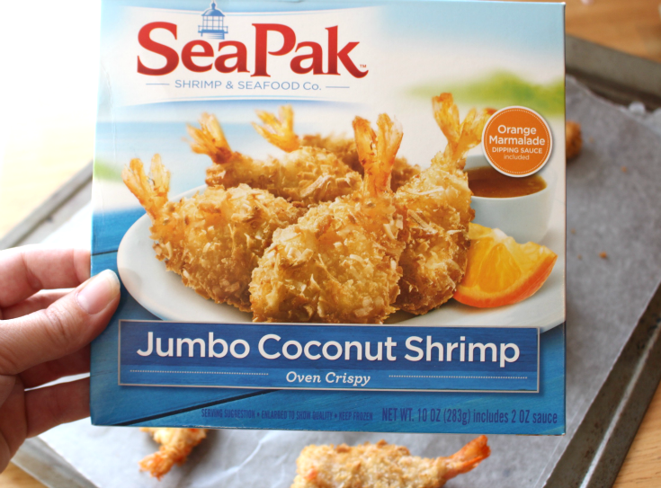 Tropical Coconut Shrimp Bites - SeaPak