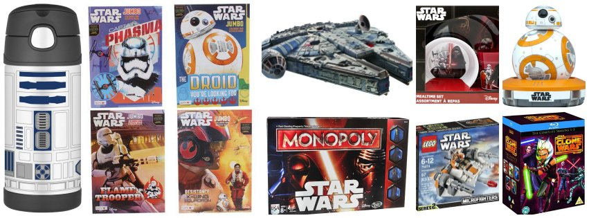 Stocking Stuffer Gift Ideas For Everyone - STAR WARS FANS