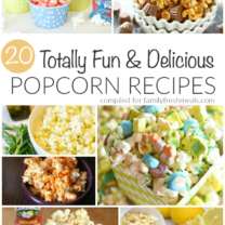 20 Delicious Popcorn Recipes