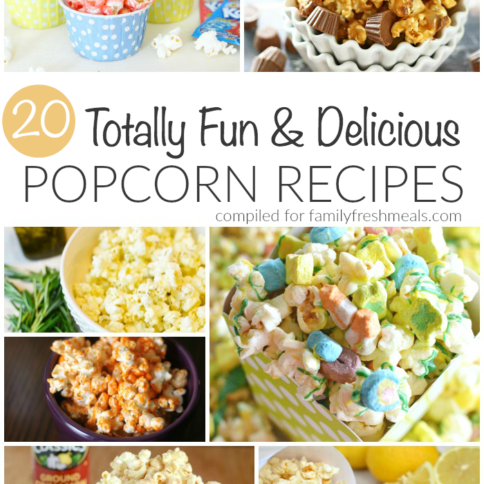 20 Delicious Popcorn Recipes - FamilyFreshMeals.com