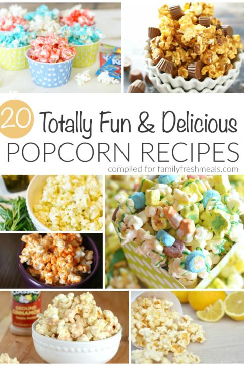 20 Delicious Popcorn Recipes - FamilyFreshMeals.com