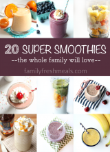 20 Super Smoothies