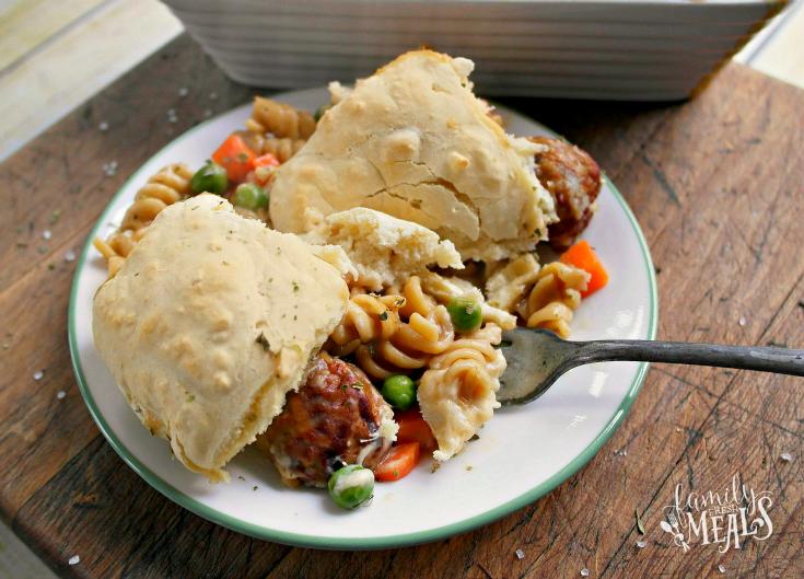 Comforting Beefy Noodle Casserole --Step 5 - FamilyFreshMeals.com -
