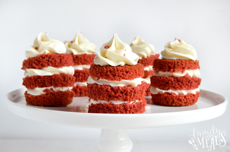 Easy Mini Red Velvet Cakes Family Fresh Meals