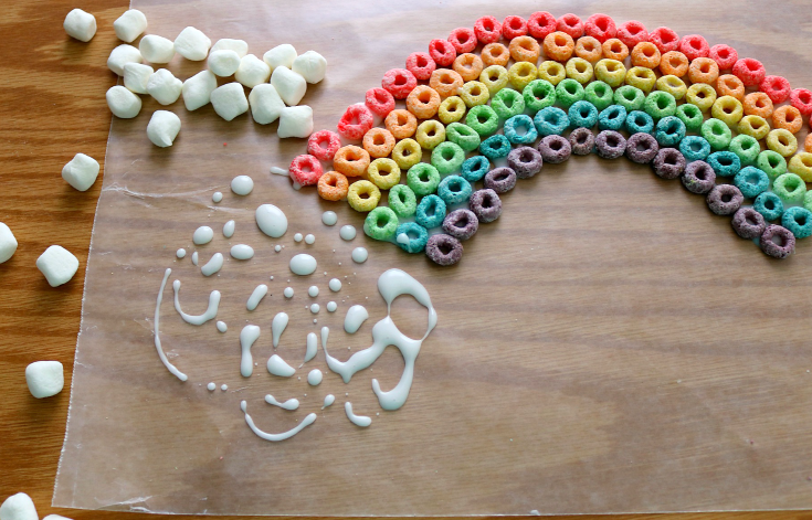 Edible Rainbow Craft Recipe - Step 4