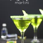 Green Apple Jolly Rancher Martini
