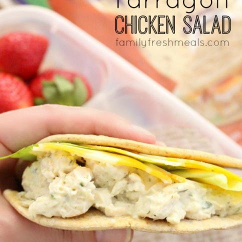 Tarragon Chicken Salad - FamilyFreshMeals.com