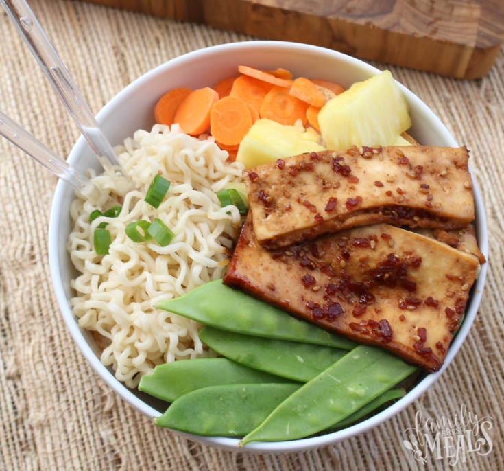 Teriyaki Tofu Bowl - Step 3