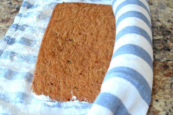 Carrot Cake Roll - Step 3