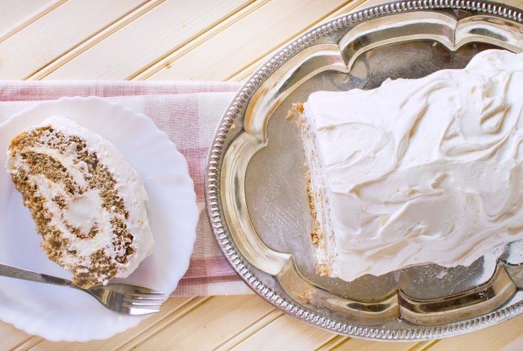 Carrot Cake Roll - Step 5