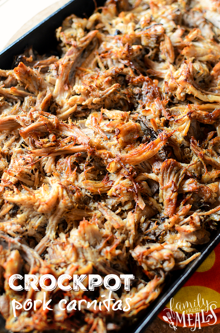 Crockpot Pork Carnitas Recipe - Easy Family Fresh Meals