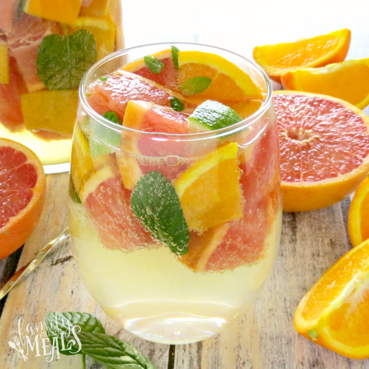 Grapefruit Orange Sangria - FamilyFresh Meals.com