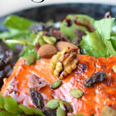 Easy Honey Glazed Salmon _ FamilyFreshMeals.com -