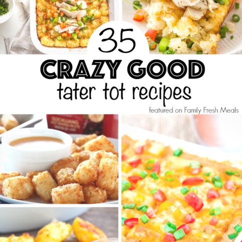 35 CRAZY GOOD TATER TOT RECIPES - FamilyFreshMeals.com