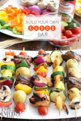 Build Your Own Kabob Bar