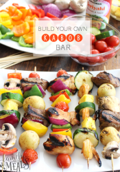 Build Your Own Kabob Bar