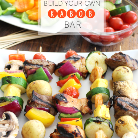 Build Your Own Kabob Bar --YUM- FamilyFreshMeals.com - ---