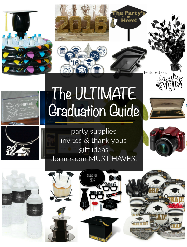 A graduation party is a day that celebrates a pivotal moment in your life. It's also a day you want your child to remember.