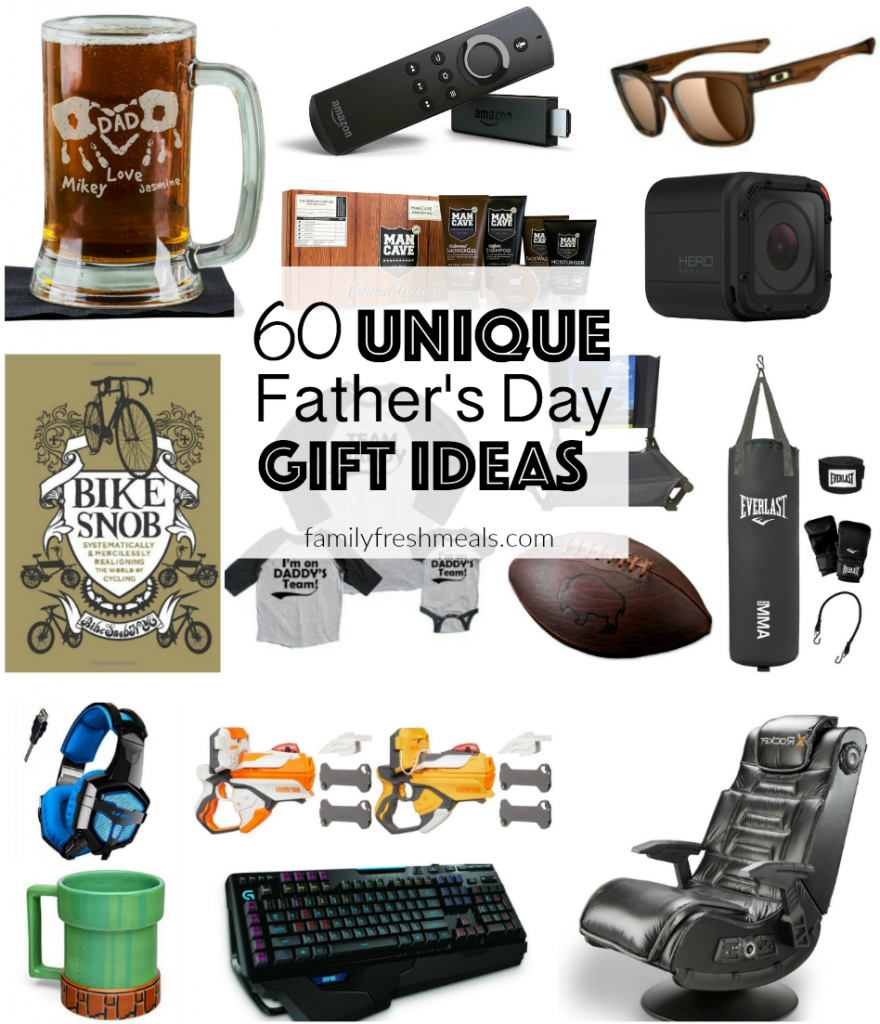 60 Unique Father's Day Gift Ideas - FamilyFreshMeals.com