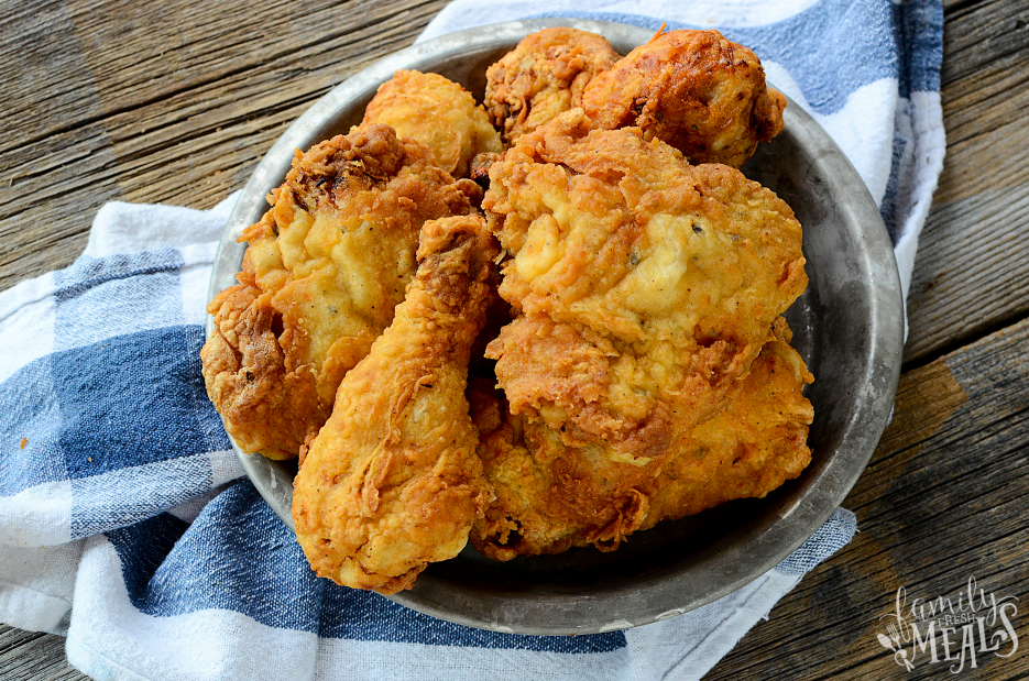 Buttermilk Ranch Fried Chicken Recipe - Enjoy - FamilyFreshMeals.com