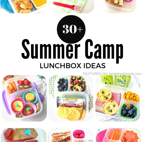 Summer Camp Lunchbox Ideas - FamilyFreshMeals.com