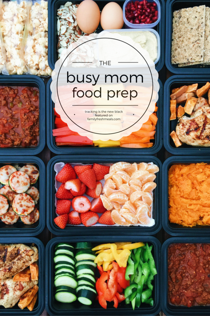 Busy Mom Food Prep Family Fresh Meals