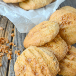 Toffee Butter Pecan Cake Mix Cookies