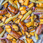 Easy Sausage Vegetable Bake