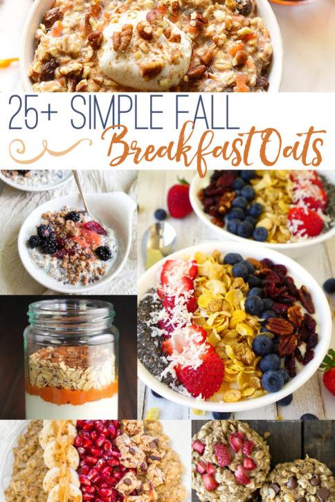 25 simple fall breakfast oats