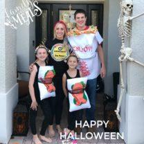 Happy Halloween Sushi Costume