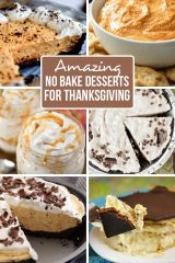 Amazing No Bake Thanksgiving Desserts