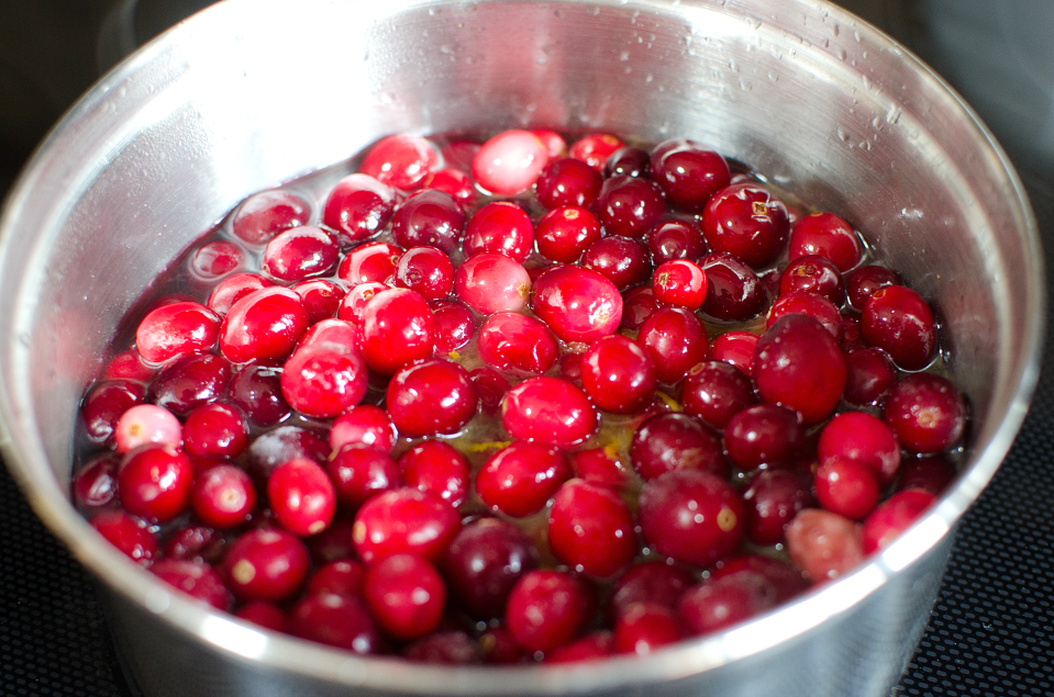 Easy homemade cranberry sauce family fresh meals for What to make with fresh cranberries