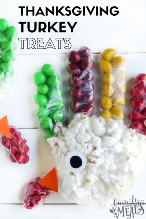 Fun Thanksgiving Turkey Treats - FamilyFreshMeals.com