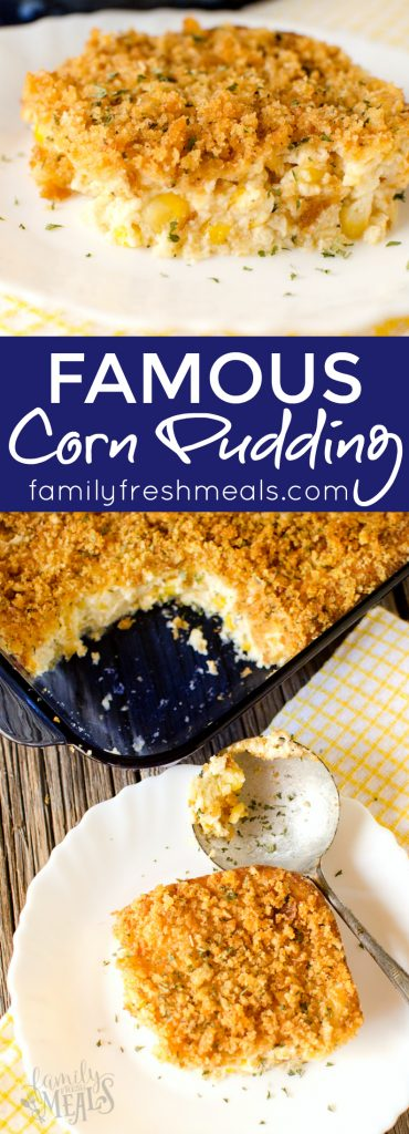 The best corn pudding recipe  - Famous Corn Pudding recipe - Family Fresh Meals