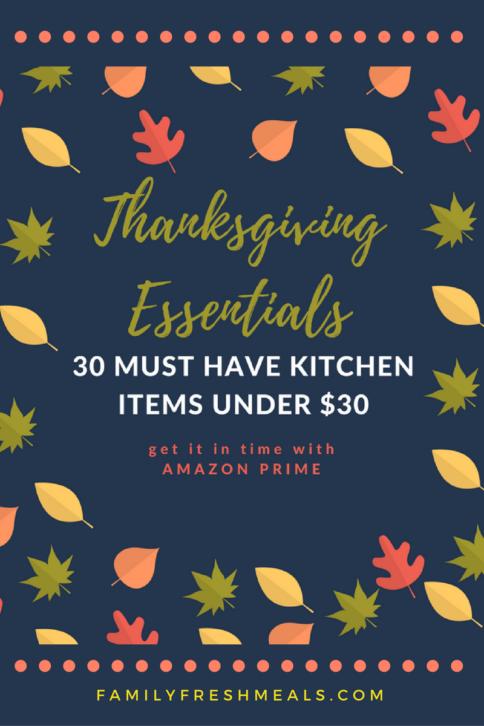 30 Thanksgiving Must have Kitchen Gadgets