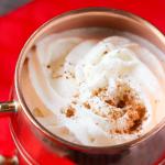 Crockpot Eggnog Latte