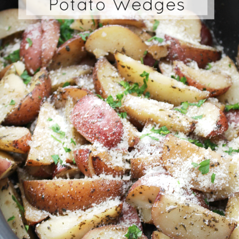 Crockpot Parmesan Potato Wedges - recipe