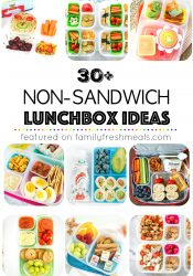 30 Non Sandwich Lunchbox Ideas