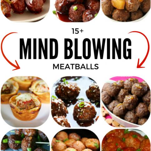 Mind Blowing Meatballs - FamilyFreshMeals.com