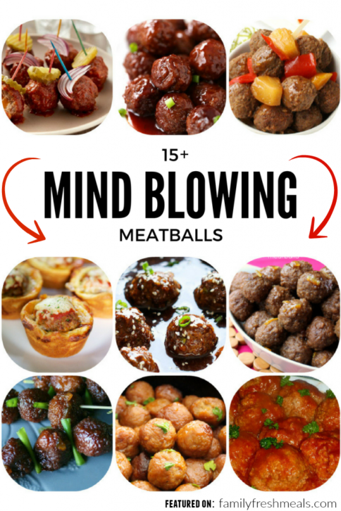 Mind Blowing Meatballs - FamilyFreshMeals.com