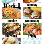 Easy Weekly Meal Plan Week 9
